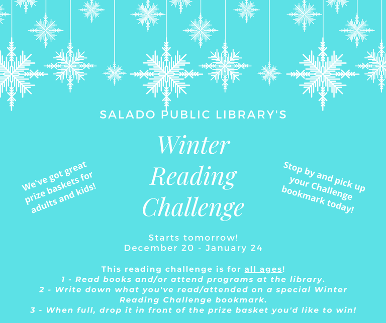 Join our Winter Reading Challenge