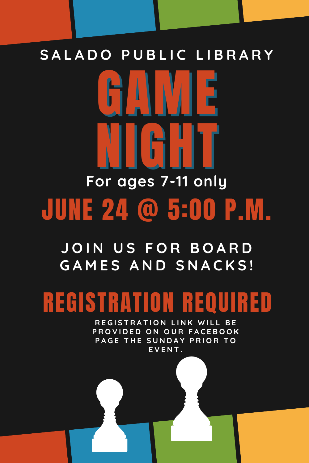 Game Night for Kids!